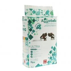 """Ferribiella Tappetini Igienici """"Asssorbello"""" Ultra Con Clorexidina 60x60"""