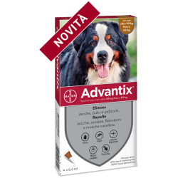 Advantix Spot On per Cani 40-60Kg - 4 Fialette