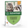 Advantage 40 Spot On per Gatti e Conigli di Peso inferiore a 4Kg