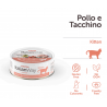ItalianWay Cat Wet Kitten Pollo e Tacchino 80g
