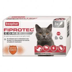 Beaphar Fiprotec Combo Spot On Gatto 3 fialette