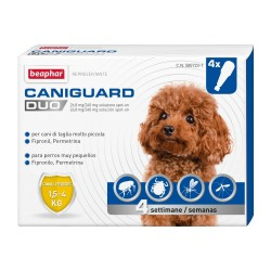 Beaphar Caniguard Duo Spot On XS 1,5-4Kg