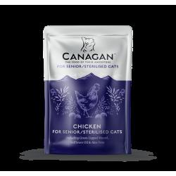 Canagan Cat Bustina Pollo per Gatti Senior Sterilizzati Grain Free 85g