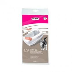 IMAC Sandy Bag Trasparente Blister - Foderine Igieniche per Lettiere