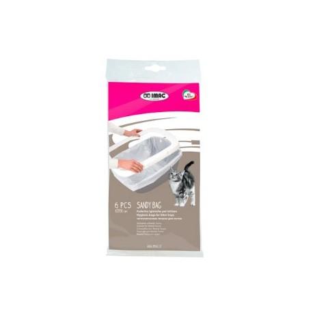 IMAG Sandy Bag Trasparente - Foderine Igieniche per Lettiere