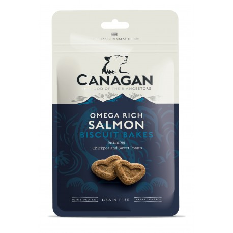 Canagan Biscuit Bakes Salmon Grain Free 150gr