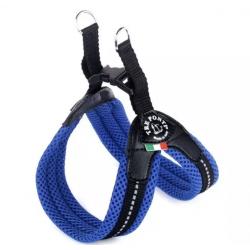 Tre Ponti Pettorina Easy Fit Rete Chiusura Plastica - Blu