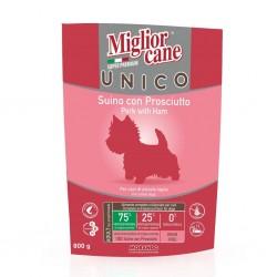 Morando Miglior Cane Unico Grain&Gluten Free Suino con Prosciutto - 800gr