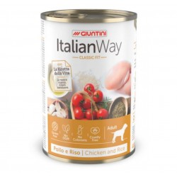 ItalianWay Dog Classic Fit Adult Gluten Free - Pollo e Riso - 400g