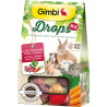 Gimbi Drops Mix Barbabietola, carota, tarassaco 50g
