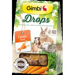 Gimbi Drops Con Carota 50g