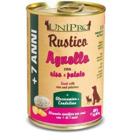 Unipro Rustico 7+ Agnello con Riso e Patate  400g
