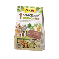 Gimborn Gimbi Snack Plus 1 Mignon Mix con Erbe & Ortaggi - 50g