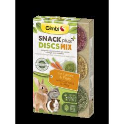 Gimborn Gimbi Snack Plus Discs Mix con Carote & Fieno - 50g
