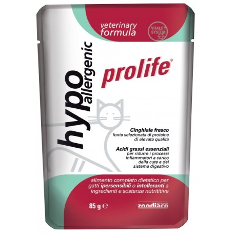 Prolife Cat Vet ipoallergenico 85g
