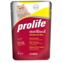 Prolife Cat Sterilised Pollo & Riso Bustina 85g
