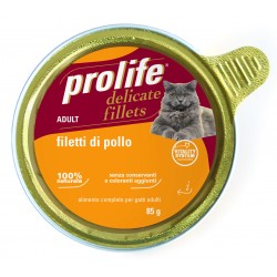 Prolife Cat Filetti Pollo Gr.85