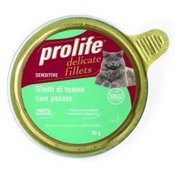 Prolife Cat Sensitive Filetti di Tonno con Patate 85g