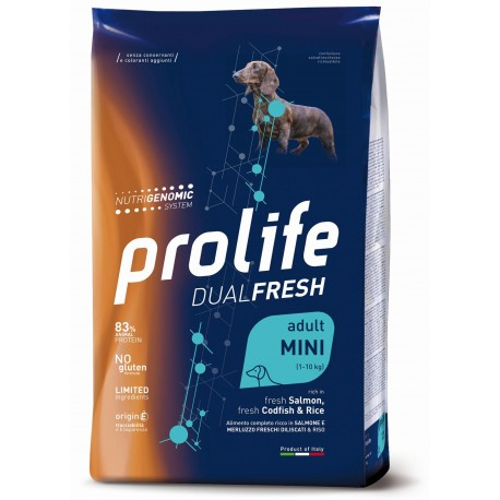 Prolife Dog Dual Fresh Mini Salmon, Codfish & Rice 600g
