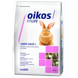 Oikos Fitlife Rabbit Adult 1 Mantenimento Plus 600gr