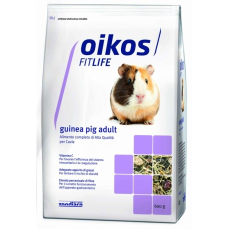 Oikos Fitlife Guinea Pig Adult 600g