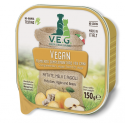 Vegan Dog Patate Mela Fagioli Gr.150