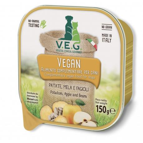 Vegan Dog Patate Mela Fagioli Gr.150