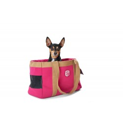 Hunter Carrier Bag Perth con Porta Sacchetti Igienici - Rosa