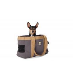 Hunter Carrier Bag Perth con Porta Sacchetti Igienici - Grigio