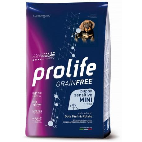 Prolife Dog GRAIN FREE Puppy Sensitive Mini Sole Fish & Potate
