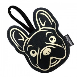 Switch Dog Mini Bag FRENCHIE In Vinilpelle - Nero