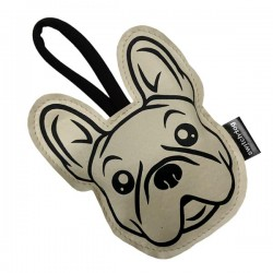 Switch Dog Mini Bag FRENCHIE In Vinilpelle - Panna