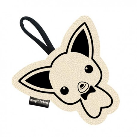Switch Dog Mini Bag CHIHUI In Vinilpelle - Panna