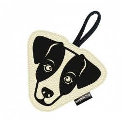 Switch Dog Mini Bag JACK RUSSEL In Vinilpelle - Panna