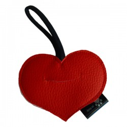 Switch Dog Mini Bag Cuore Mini In Vinilpelle - Rosso