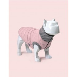 United Pets Polar Jacket - Piumino Leggero - Rosa e Grigio