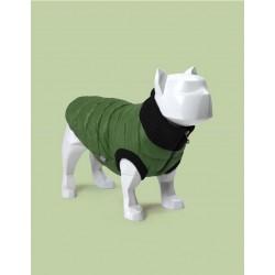 United Pets Polar Jacket - Piumino Leggero - Verde e Grigio