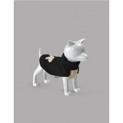 United Pets Warmy - Maglione Dolcevita - Nero e Beige