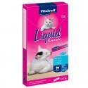 Vitakraft Snack Liquido al Salmone con Omega 3 per gatto (6 pezzi)