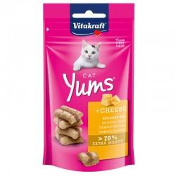 Vitakraft Cat Yums Snack Morbido al Formaggio 40g