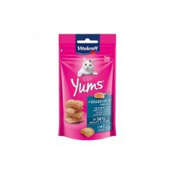 Vitakraft Cat Yums Snack Morbido al Salmone con Omega 3 40g