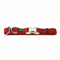 Hunter Collare Nylon Vario Basic Alu-Strong Colore Rosso