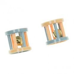 Imac Set 2 Ruote In Plastica con Campanella