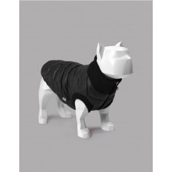 United Pets Polar Jacket - Piumino Leggero - Nero e Bordeaux