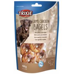 Trixie Premio Snack Lamb Chicken Bagels 100g