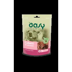 Oasy Dog Snack Cubetti al Salmone 80g