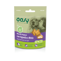 Oasy Cat Snack Biscotti Ripieni all'Agnello 60g