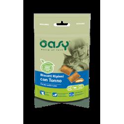 Oasy Cat Snack Biscotti Ripieni al Tonno 60g
