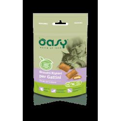 Oasy Cat Snack Biscotti Ripieni per Kitten 60g