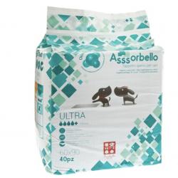 """Ferribiella Tappetini Igienici """"Asssorbello"""" Ultra Con Clorexidina 60x90 - 40 PEZZI"""
